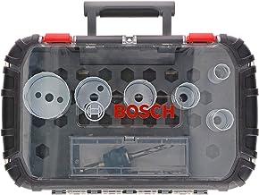 Bosch Professional Progressor for Wood and Metal Set de 9 unidades de sierras de corona (para electricistas, accesorios para taladro)
