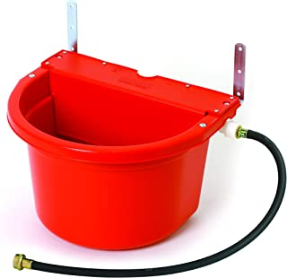 Little Giant Automatic Animal Waterer (Red) Float Controlled Automatic Waterer for Livestock (4 Gal) (Item No. FW16RED)