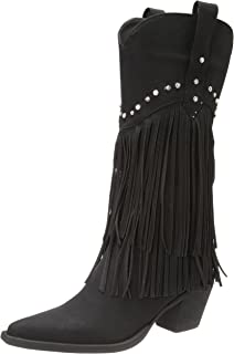 Women's Fringe and Stud Western Boot