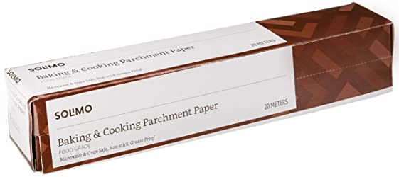 Amazon Brand - Solimo Baking Paper & Cooking Parchment Paper (20 m)