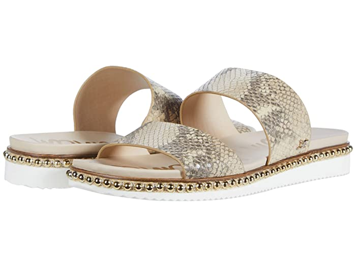 Sam Edelman  Asha (Wheat Multi Exotic Snake Print Leather) Womens Shoes
