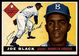 5a609a23925 1955 Topps  156 Joe Black Dodgers MLB Baseball Card VG Very Good