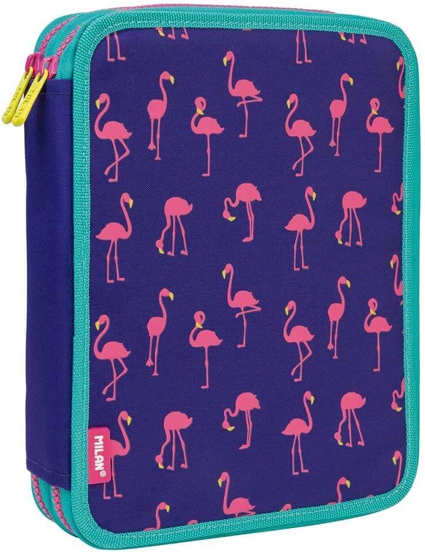 Etui Milan Flamingos doppelte 59Teile