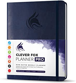 $36 » Sponsored Ad - Clever Fox Planner PRO – Weekly & Monthly Life Planner to Increase Productivity, Time Management and Hit Yo...