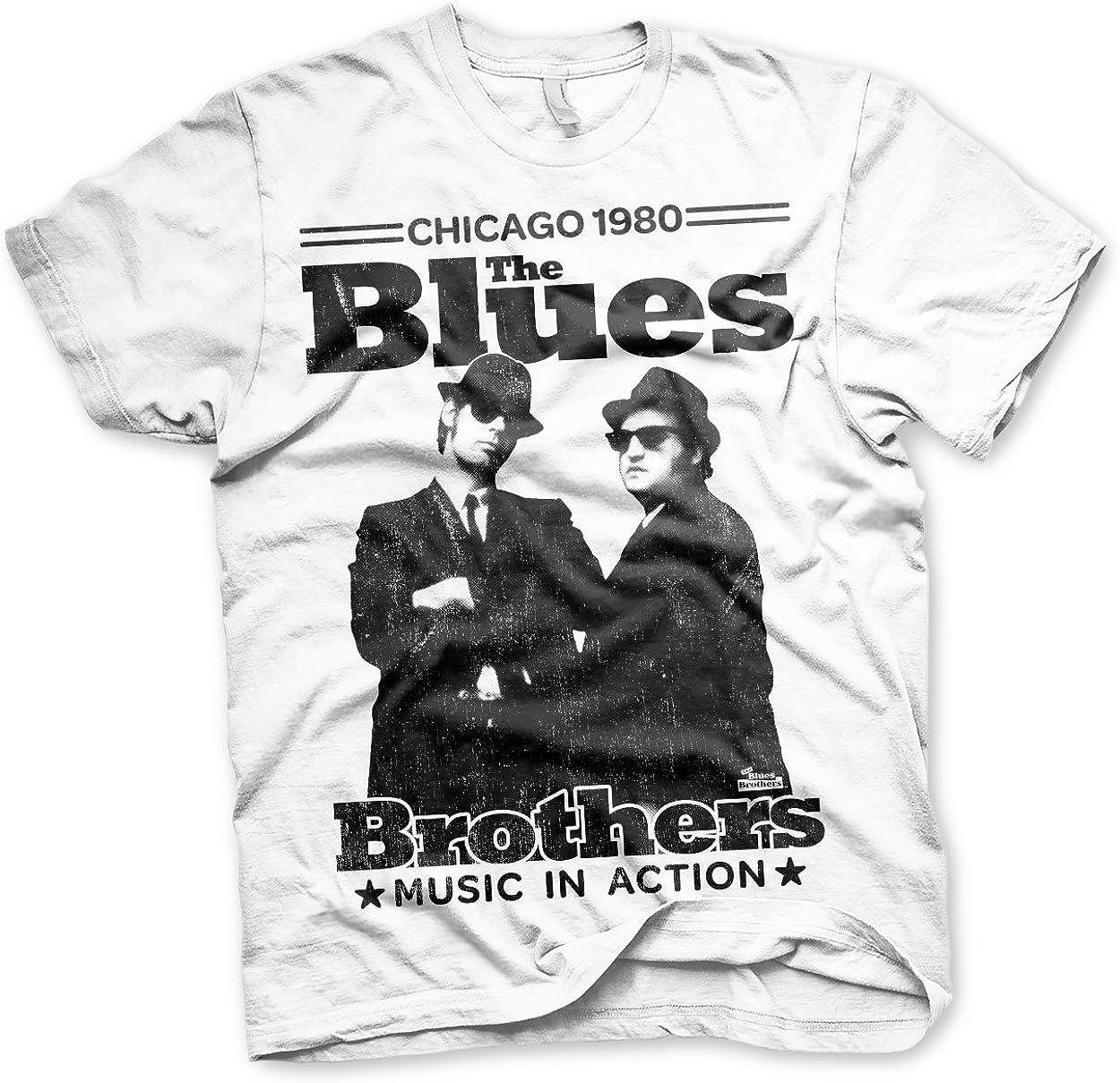 Officially Licensed Blues Brothers - 大幅にプライスダウン T-Shirt ご予約品 Chicago 1980 Men's