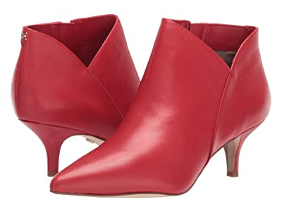 Sam Edelman Kadison (Passion Red Modena Calf Leather) Women
