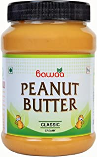 Bawaa Classic Peanut Butter (Creamy) (1Kg)