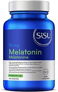 Sisu Melatonin 10 mg, 90 Tablets - High-Dosage Melatonin Supplement - Sleep Quality Support - Vegan, Soy, Gluten & Dairy F...