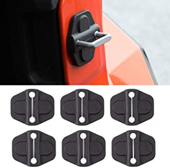 ZTYCKJ Black Car Exterior Door Handle Cover Trim for 2020 Jeep Gladiator JT Rubicon Launch Edition Sport S Crew Cab Pickup 4-Door JT Black