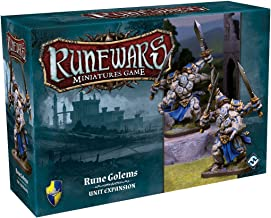 Fantasy Flight Games Runewars Rune Golems Unit Expansion Pack Miniatures Game Miniatures Game