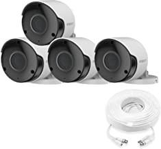 Wisenet SDC-89445BF-4PK - 5MP Super HD Weatherproof Bullet Camera (4 Pack)