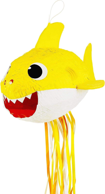 "Ya Industry No. 1 Otta Pinata Baby Shark Sales for sale Pull Yellow 14"" String 19"" x"