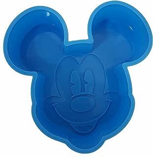 Disney Mickey Mouse Cake Pan Non-Stick Silicone Small
