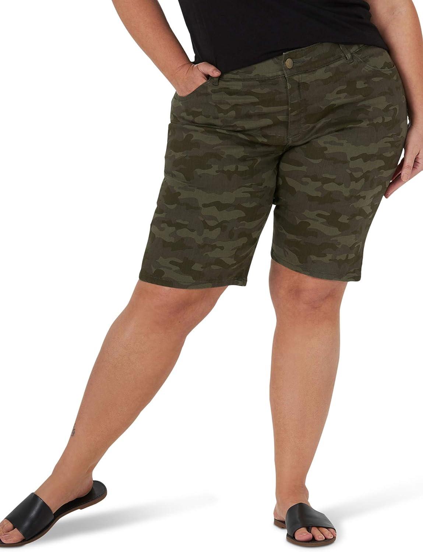 Lee Women's Flex Motion Plus Size Bermuda Short