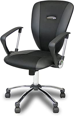 Furinno Hidup Mesh Fabric Executive Chair, Black