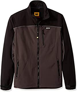 Workwear Bundle: Caterpillar Men's Soft Shell Jacket &...