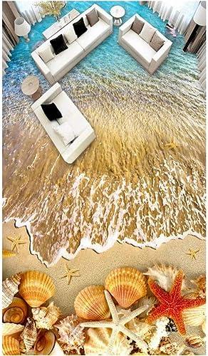 soporte minorista mayorista YYBHTM Mural De Papel Tapiz 3D Hermoso Hermoso Hermoso Océano Shell Navegar Dolphin 3D Mural De Decoración De Interiores  barato y de alta calidad