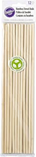 Wilton 399-1010 12-Pack Bamboo Dowel Rods for Cakes