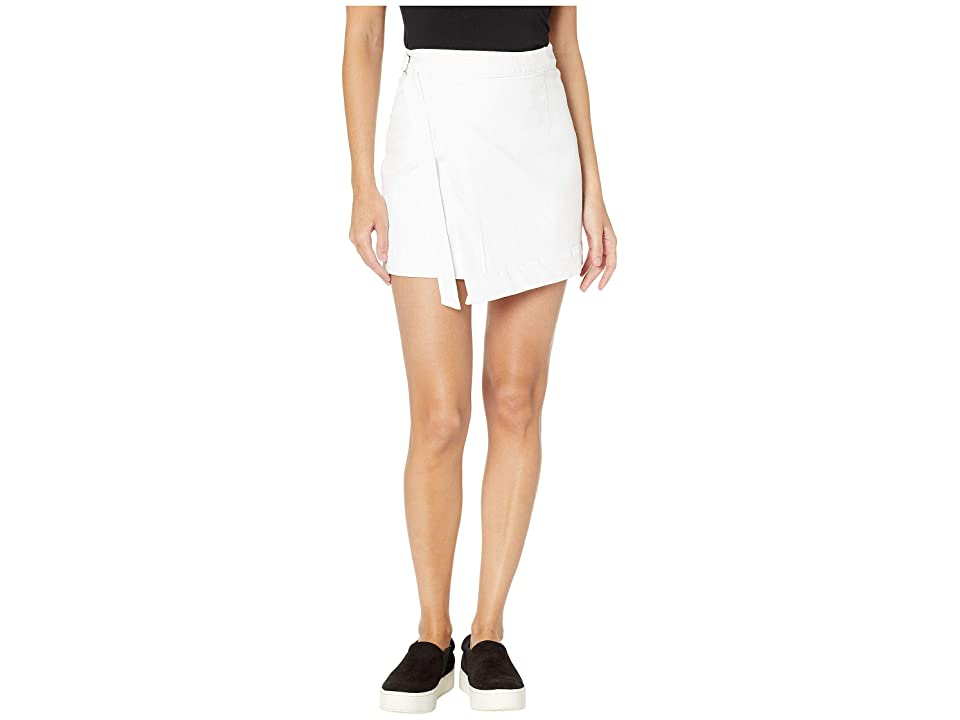 Image of AG Adriano Goldschmied Ahlaia Skirt (White) Women's Skirt