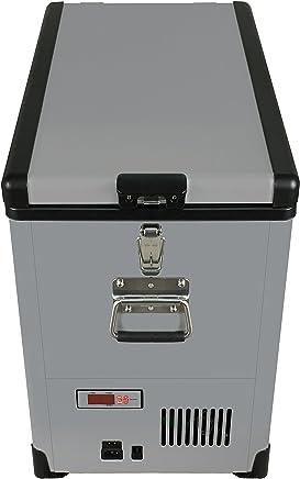 Whynter FM-452SG Elite 45 Quart Slimfit Refrigerator with 12v Option Portable Fridge/Freezers, One Size, Gray