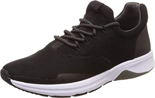 Men Hamilton Black Sneakers 10 Kids UK 8316984