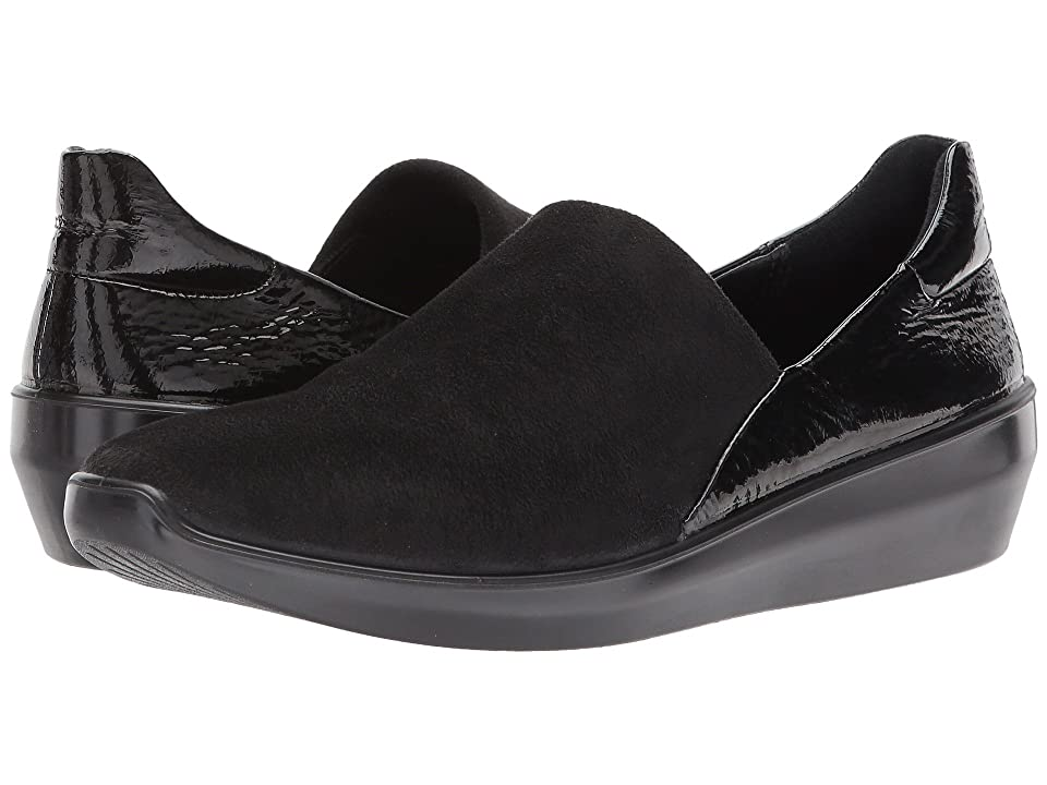 ECCO Incise Urban Slip-On (Black/Black) Women