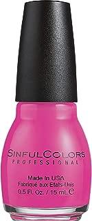 Sinful Colors Professional Nail Polish Enamel, Boom Boom [851] 0.50 oz (Pack of 2)