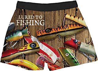 American Mills Lured to Fishing Boxers, Brief Insanity for a Big Catch Funwear