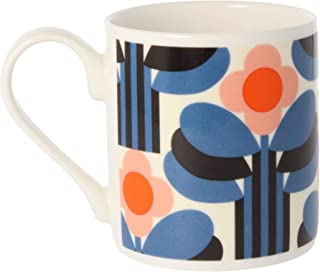 Orla Kiely Art Deco Mug Colour: Orla Kiely Orange