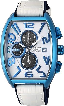 [エンジェルクローバー]Angel Clover 腕時計 DOUBLE PLAY SOLAR ホワイト文字盤 回転式スモールセコンド ソーラー電池 DPS38BNV-WH メンズ