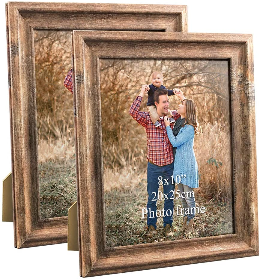 Home Decor One Vintage Wintergreen 8x10 Frame Table Numbers Distressed Rustic Nursery Family Photo,Gallery Wall,Wedding Signs Art Frame