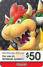 Nintendo eShop PrePaid Card $50 USD (Switch/3DS/Wii U)