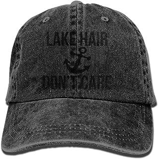 297cf790210 MDFY OEWGRF Lake Hair Don t Care Denim Hat Adjustable Unisex Classic Baseball  Caps