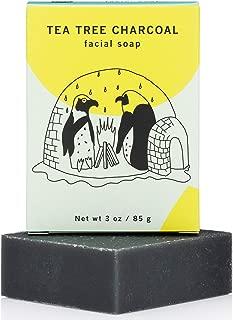 Meow Meow Tweet Tea Tree Charcoal Facial Bar 2.5oz, pack of 1