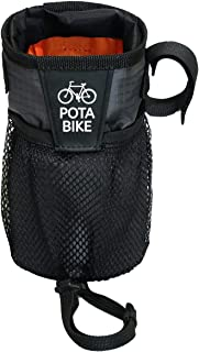 POTA BIKE(ポタバイク) ステムサイドポーチ 自転車用ハンドルポーチ/ドリンクホルダー