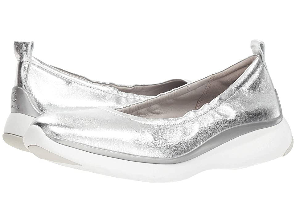 Cole Haan 3.Zerogrand Ruched Slip-On (Ch Argento Metallic) Women