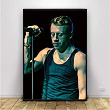 UNFIX Rapper Macklemore Hip Hop Music Singer Poster and Prints Wall Art Canvas Painting Prints On The Wall Home Decor -20x...