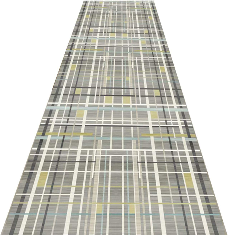 BXY Modern Geometric Lines Carpet Runner OFFicial shop 3D Runners Max 76% OFF R Patchwork