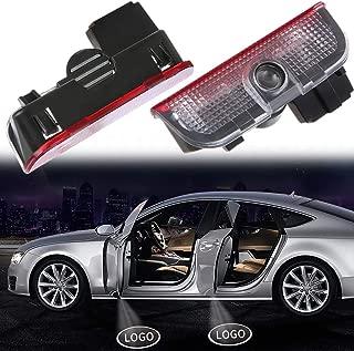 Welcome Light For Volkswagen Car Door Lights HD LED Car lights for Door Car Ground Lights for VW Passat B6 B7 CC Golf 6 7 MK5 MK6 Tiguan Scirocco 5W 2-pack