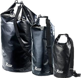 Xcase wasserdichte Taschen: Wasserdichter Packsack 16 Liter, schwarz wasserdichte Packsack-Rucksäcke