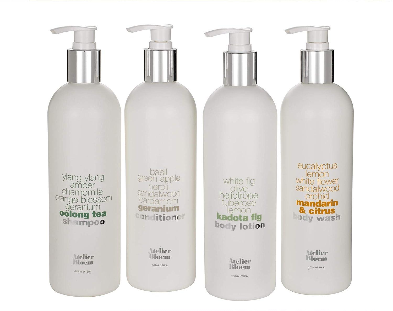 Atelier Bloem 人気急上昇 Bath Body Set Citrus 信用 with Mandarin Wash