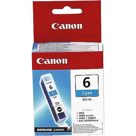 Canon Tintenpatrone Bci 6 C Cyan 15 Ml Original Für Tintenstrahldrucker Bürobedarf Schreibwaren