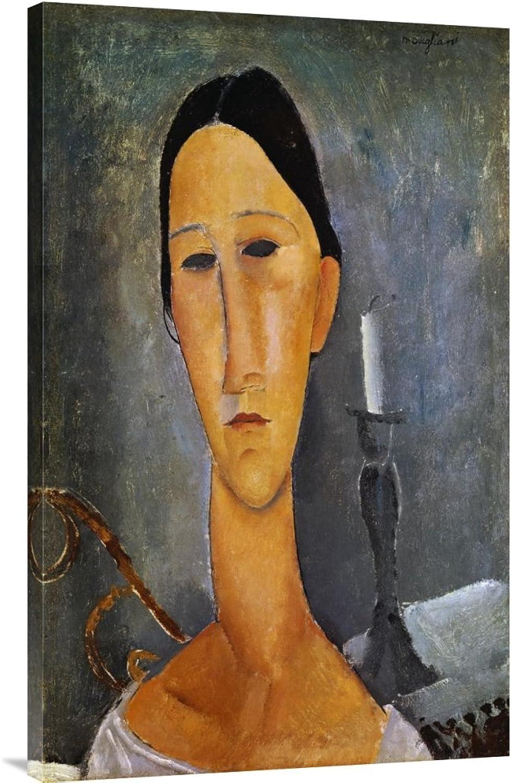 Global Global Global Galerie Budget gcs-265180–91,4–360,7 cm Amedeo Modigliani Hanka ZbGoldwska mit A-Galerie Wrap Giclée-Kunstdruck auf Leinwand Art Wand B01K1PL94E   Großer Räumungsverkauf  a7756d