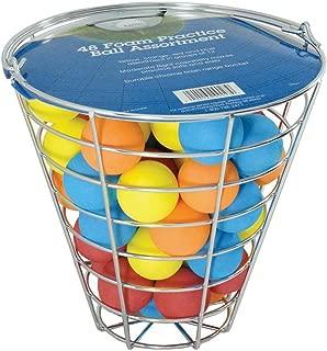 Intech Range Bucket with 48 Multi-Color Foam Golf Balls
