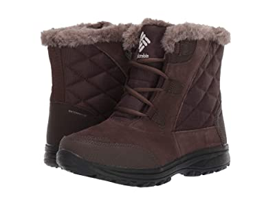 Columbia Ice Maidentm Shorty (Cordovan/Columbia Grey) Women