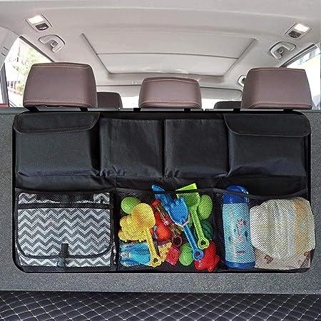 SUV Hatchback Trunk Boot Storage Car Seat Back Organiser Pouch Hanging Fine D6T8