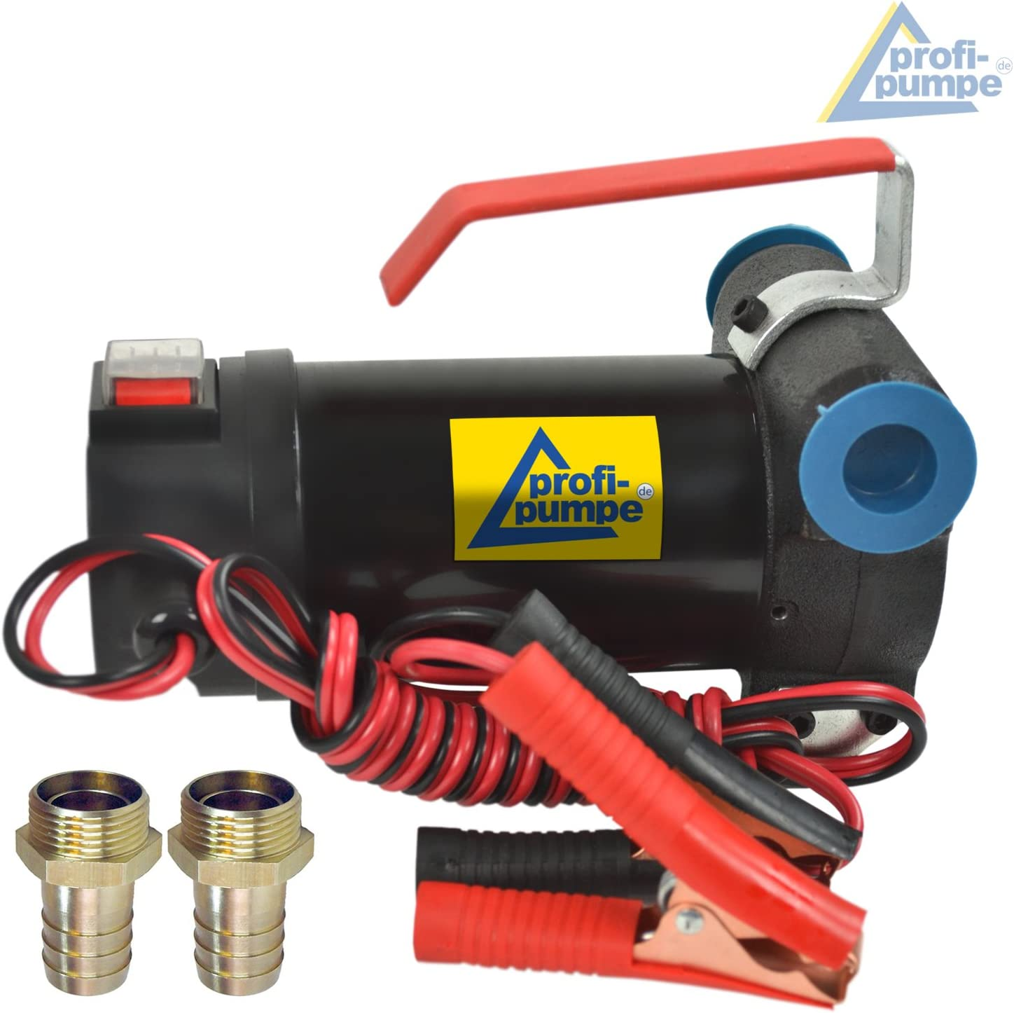 Diesel Transfer Pump Diesel Star 160-1-4 12V with 160 WATT SELF-Priming Your own Portable Station Diesel Pumps BIODIESEL with Aluminium Nozzle Hose and Accessories Pumps CAR Transfer for Diesel Pump
