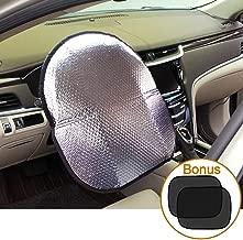 Best steering wheel sun shade Reviews
