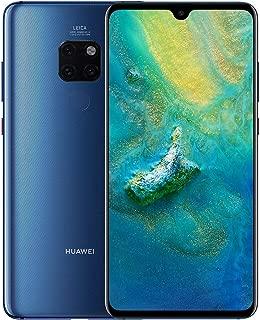 "Huawei Mate 20 (128GB/4GB) 6.53"" FHD+ Display Triple Camera 4000 mAh Battery 4G LTE GSM Dual SIM Global Unlocked (HMA-L29) International Version - Azul"