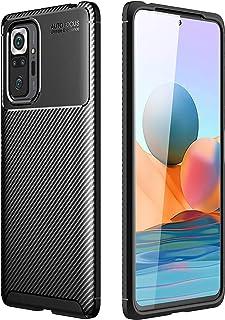 """Capa Capinha Anti Impacto Para Xiaomi Redmi Note 10 com Tela de 6.43"""" polegadas - Case Com Desenho Fibra De Carbono Shock ..."""